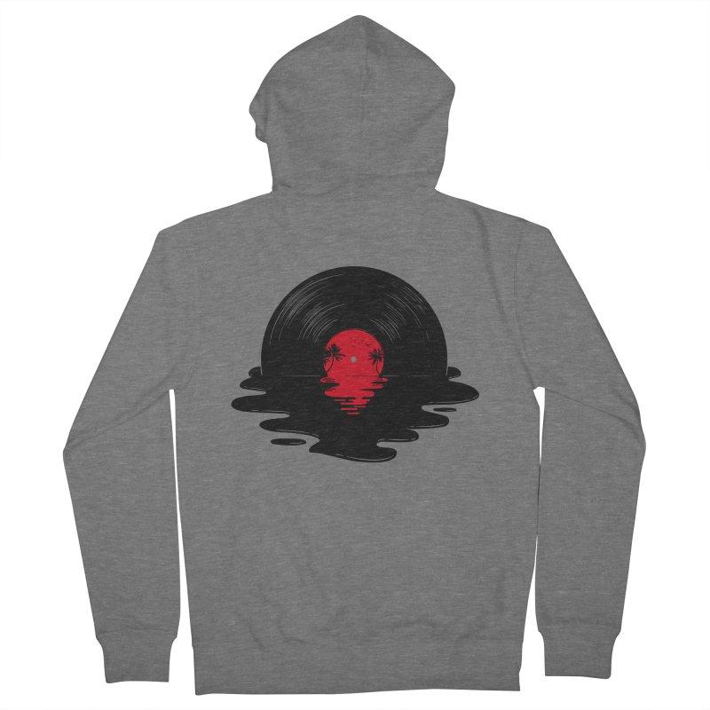 Melt Away Men's Zip-Up Hoody by Gamma-Ray Designs