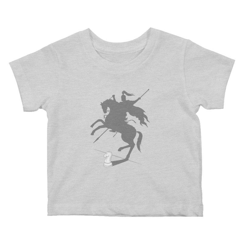 Think Big Kids Baby T-Shirt by Gamma-Ray Designs