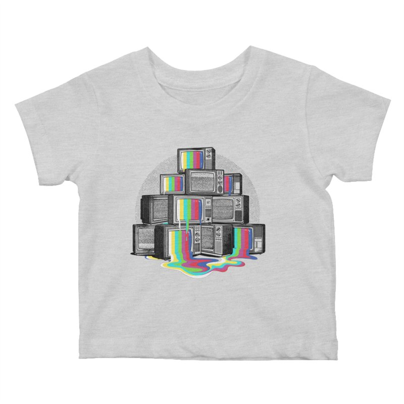 Technical Difficulties Kids Baby T-Shirt by Gamma-Ray Designs