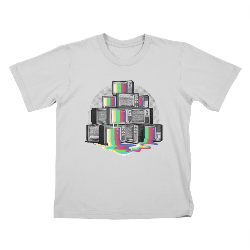 Technical Difficulties Kids T-Shirt by Gamma-Ray Designs