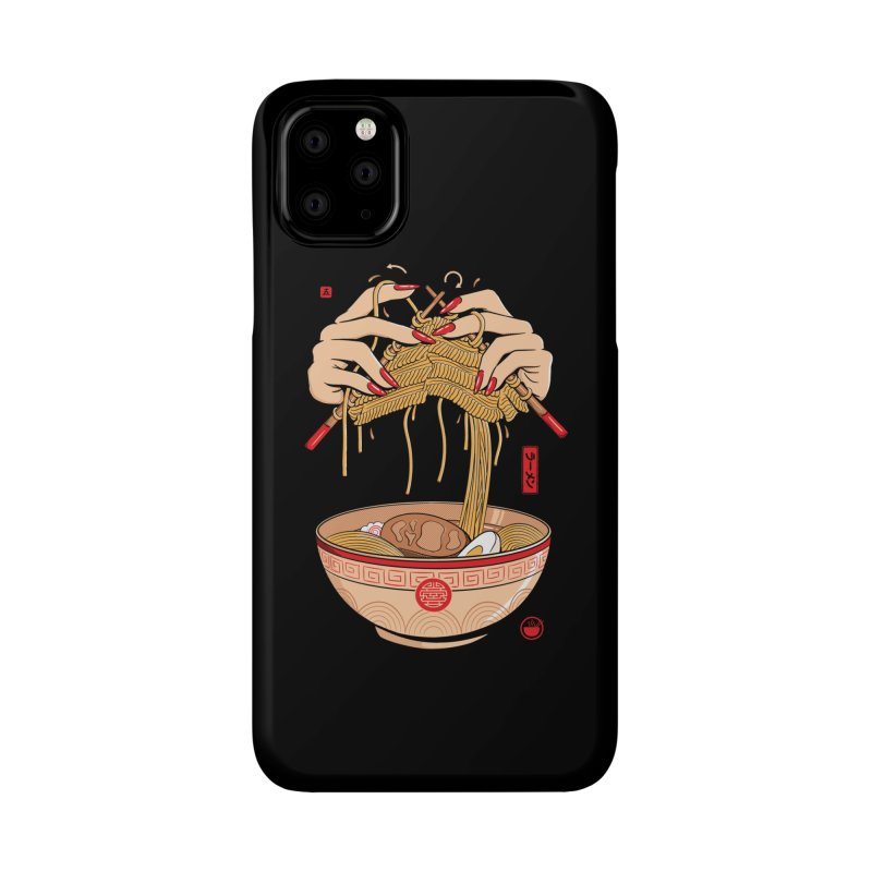 Noodle Knitting Accessories Phone Case by Gamma-Ray Designs