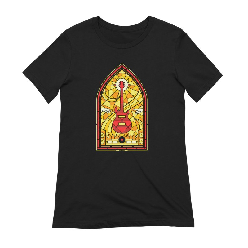 Homage to the rock gods Women's T-Shirt by Gamma-Ray Designs