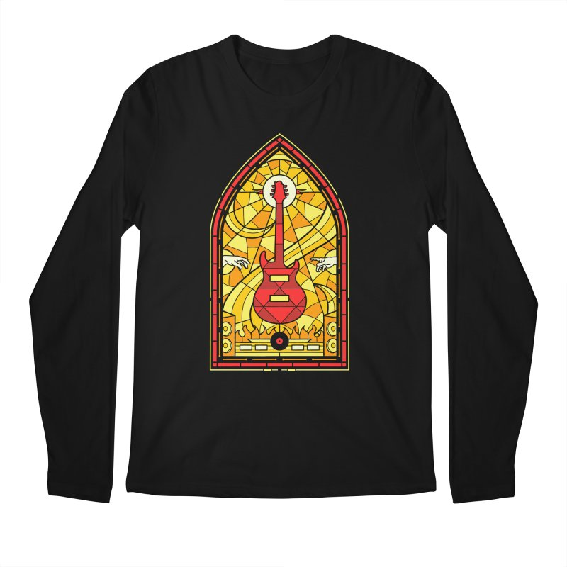 Homage to the rock gods Men's Longsleeve T-Shirt by Gamma-Ray Designs