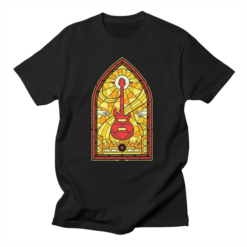 Homage to the rock gods Men's T-Shirt by Gamma-Ray Designs