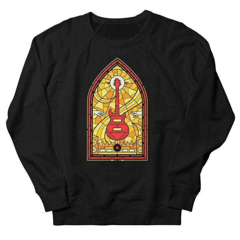 Homage to the rock gods Men's Sweatshirt by Gamma-Ray Designs