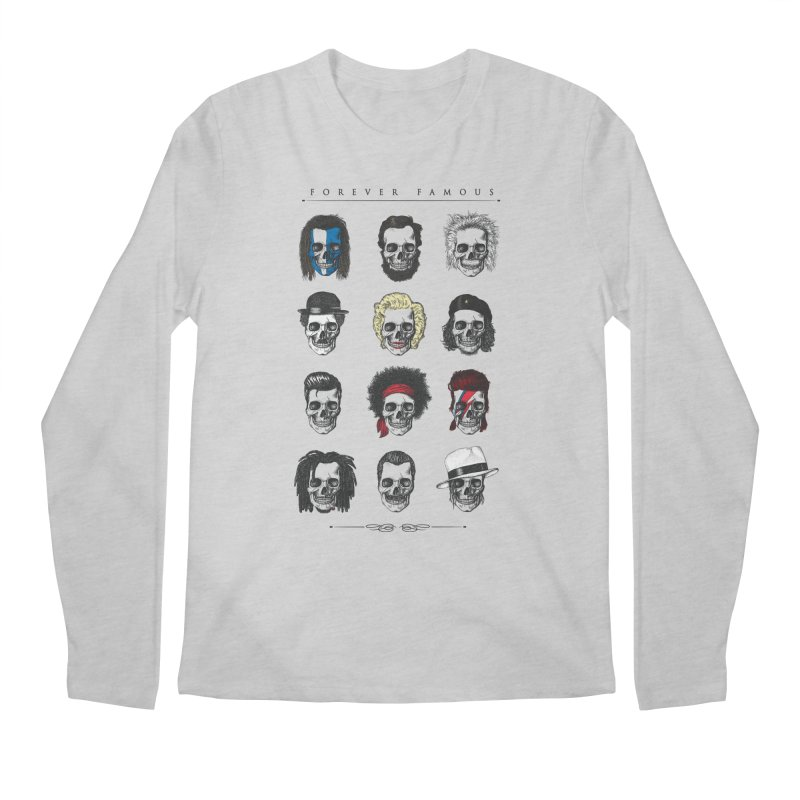 Forever Famous Men's Longsleeve T-Shirt by Gamma-Ray Designs
