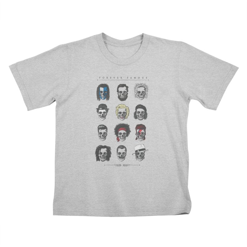 Forever Famous Kids T-Shirt by Gamma-Ray Designs