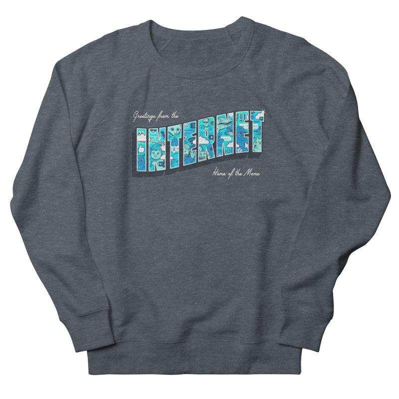 The Internet Men's Sweatshirt by Gamma-Ray Designs