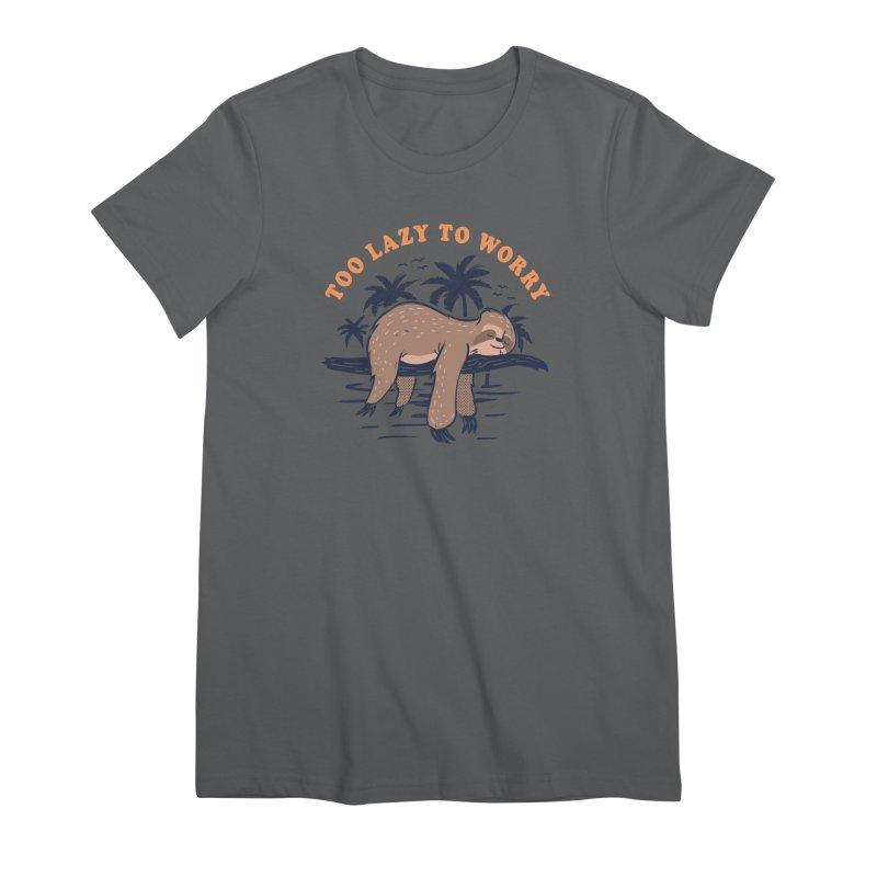 No Worries Women's T-Shirt by Gamma-Ray Designs