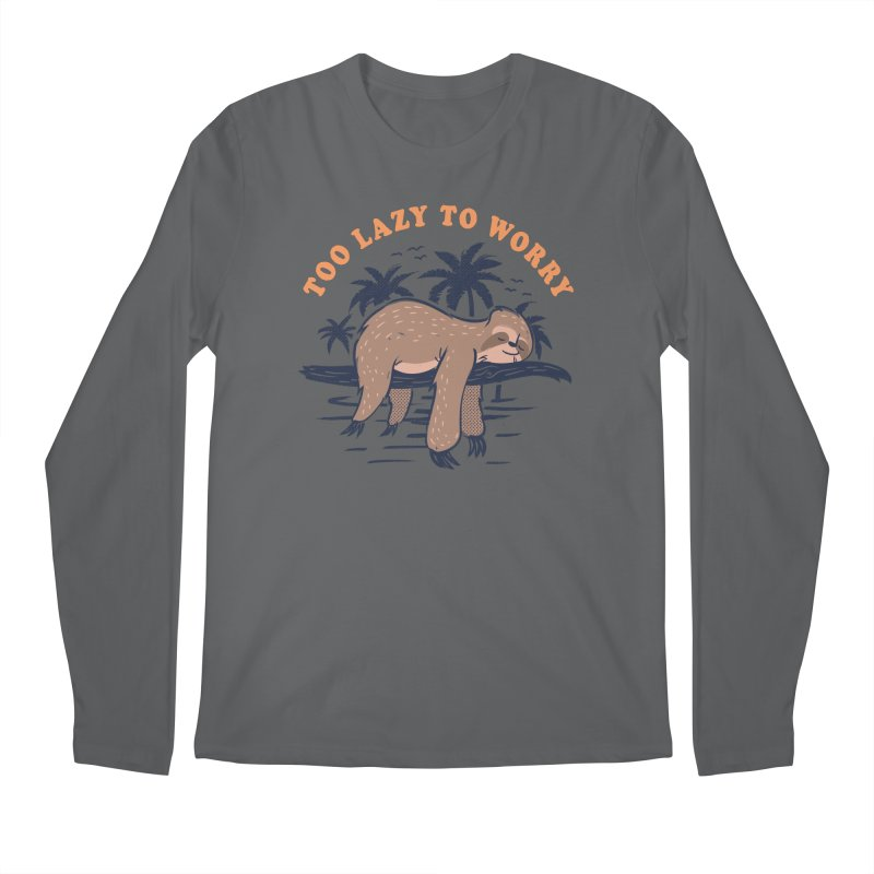 No Worries Men's Longsleeve T-Shirt by Gamma-Ray Designs