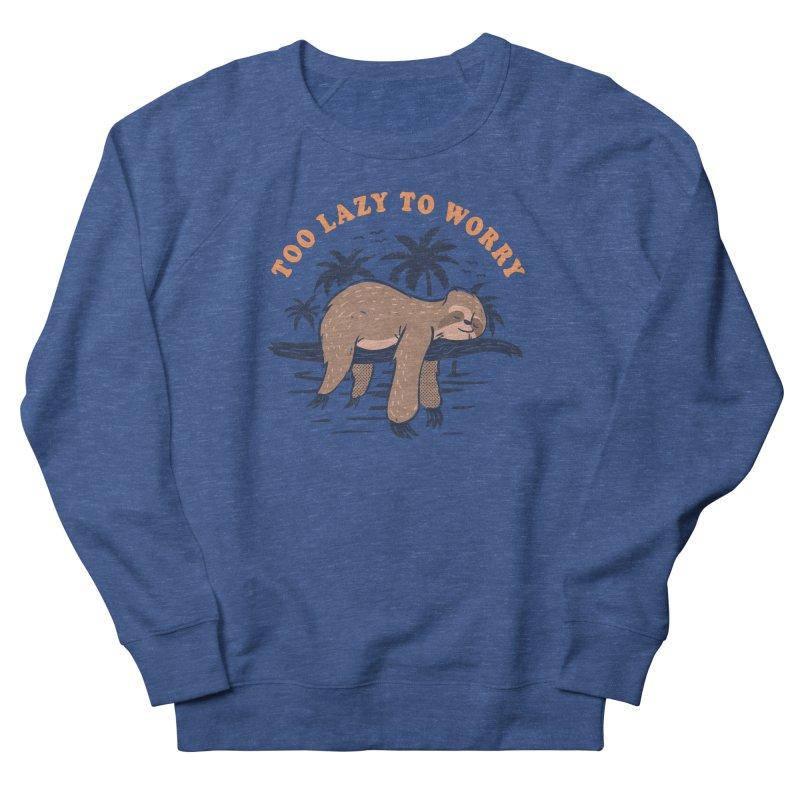 No Worries Men's Sweatshirt by Gamma-Ray Designs