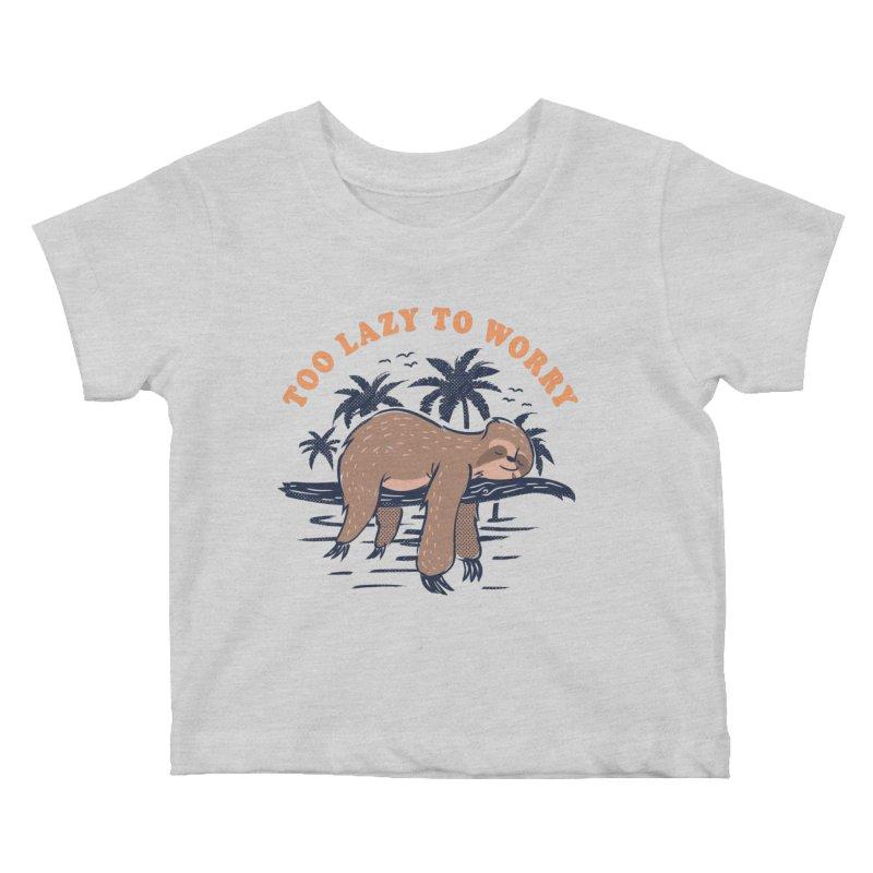 No Worries Kids Baby T-Shirt by Gamma-Ray Designs
