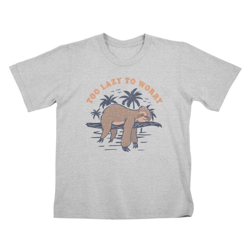 No Worries Kids T-Shirt by Gamma-Ray Designs