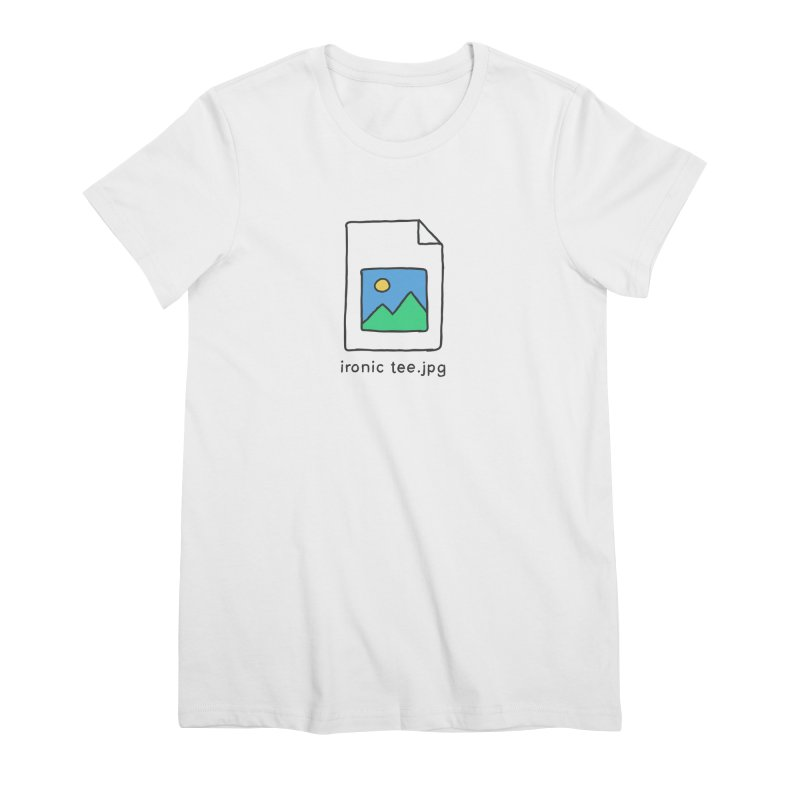 Jpg Error Women's T-Shirt by Gamma-Ray Designs
