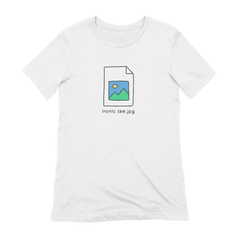 Jpg Error Women's T-Shirt by Gamma-Ray Designs