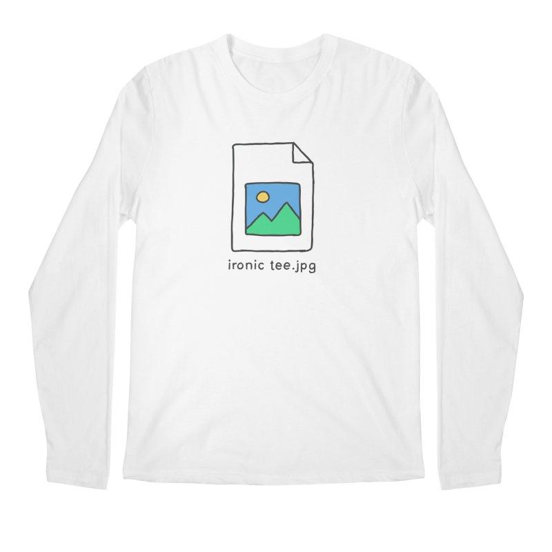 Jpg Error Men's Longsleeve T-Shirt by Gamma-Ray Designs