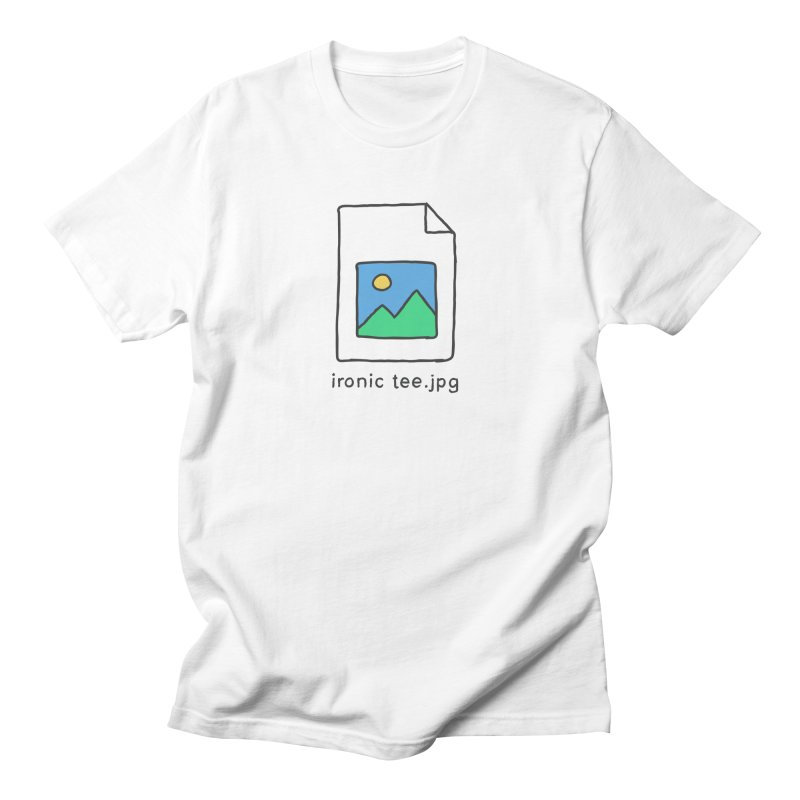 Jpg Error Men's T-Shirt by Gamma-Ray Designs