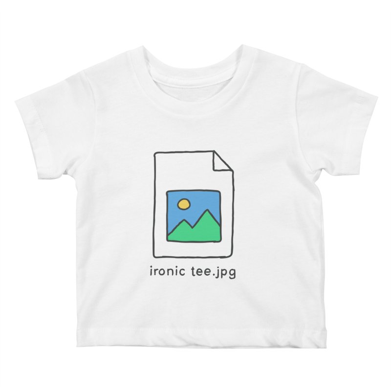 Jpg Error Kids Baby T-Shirt by Gamma-Ray Designs