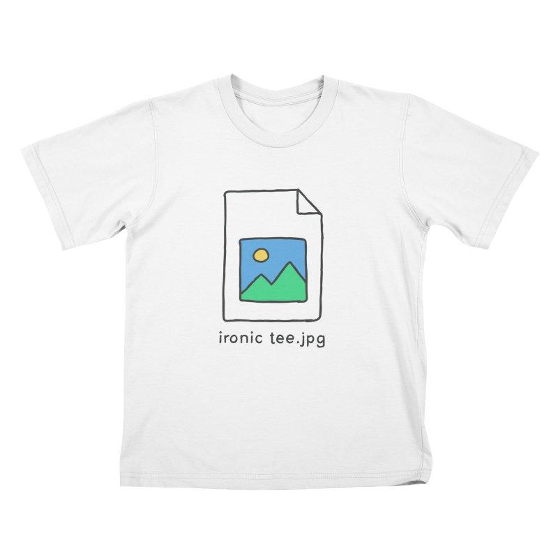 Jpg Error Kids T-Shirt by Gamma-Ray Designs