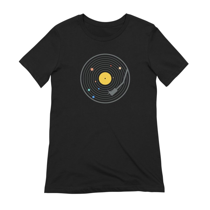 The Vinyl System (Colour) Women's T-Shirt by Gamma-Ray Designs
