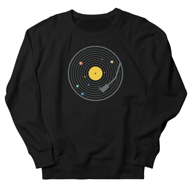 The Vinyl System (Colour) Men's Sweatshirt by Gamma-Ray Designs