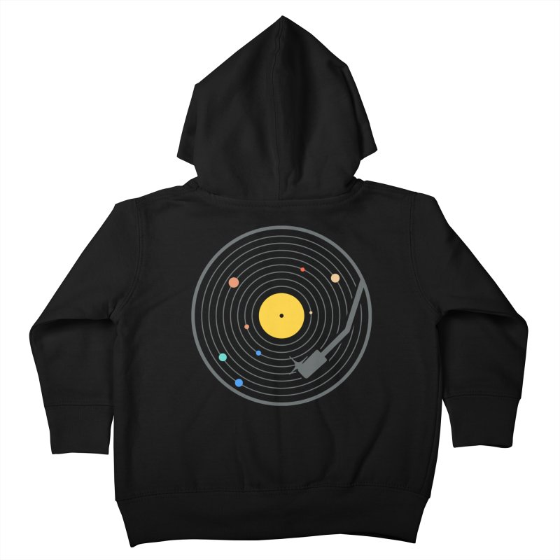 The Vinyl System (Colour) Kids Toddler Zip-Up Hoody by Gamma-Ray Designs