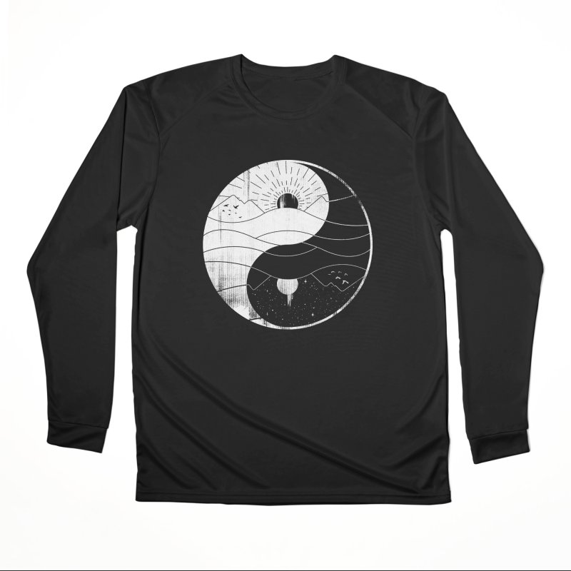 Polarity Men's Longsleeve T-Shirt by Gamma-Ray Designs