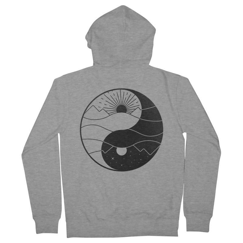 Break of Day Men's Zip-Up Hoody by Gamma-Ray's Artist Shop