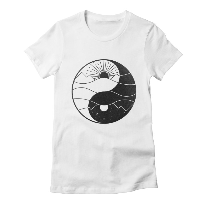 Break of Day Women's Fitted T-Shirt by Gamma-Ray's Artist Shop