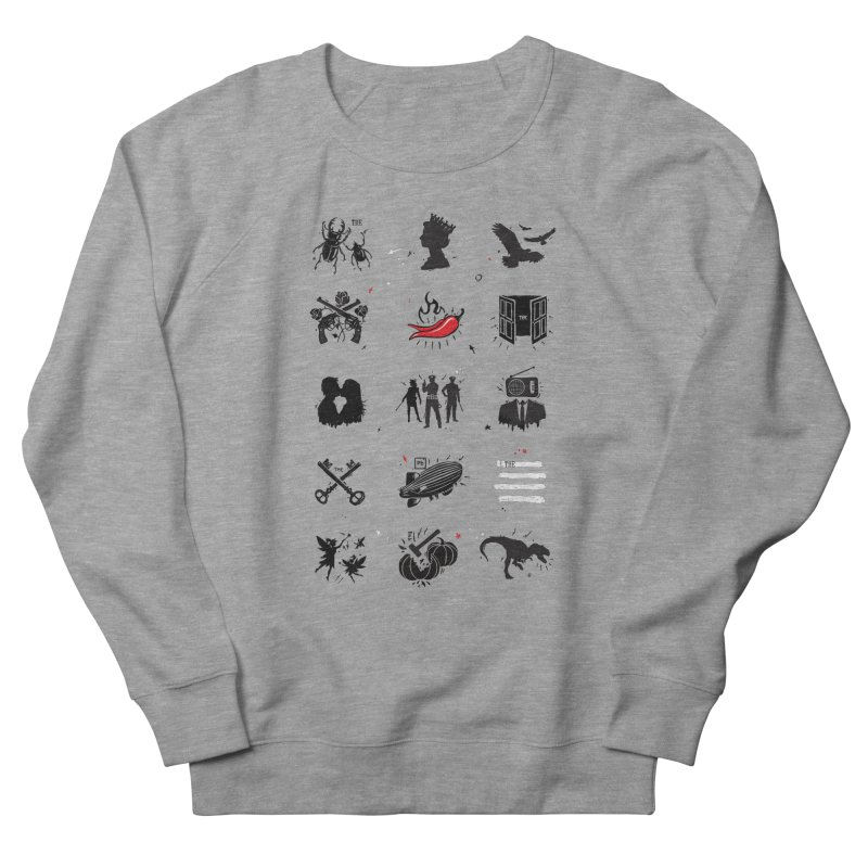 Rock 'n Roll Pictionary Men's Sweatshirt by Gamma-Ray's Artist Shop
