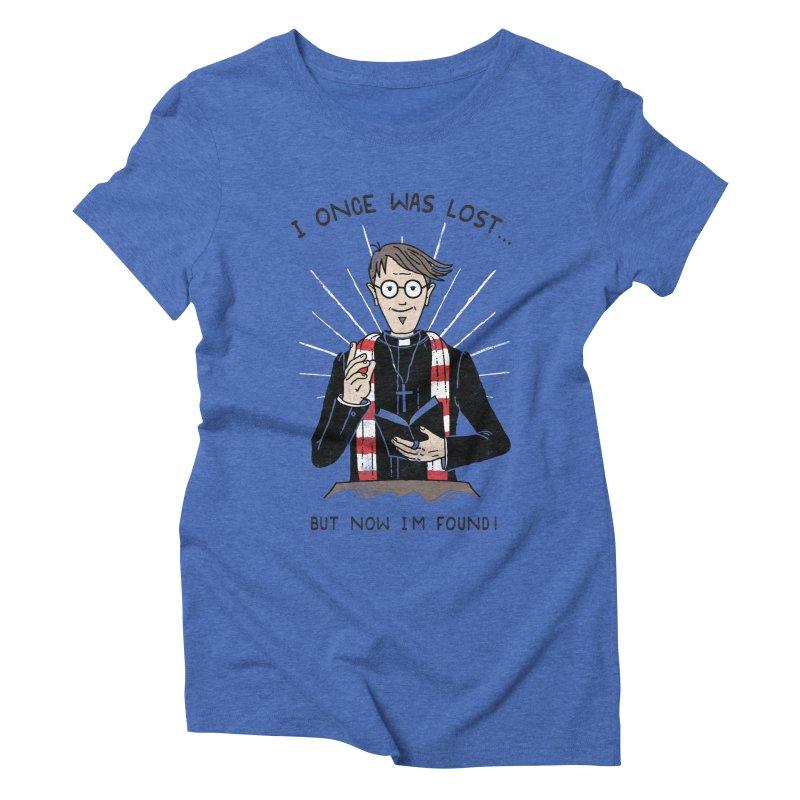 A Changed Man Women's Triblend T-Shirt by Gamma-Ray's Artist Shop