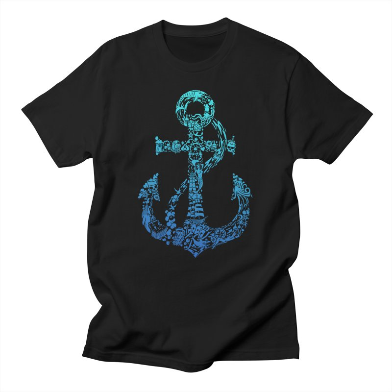 Whales, Tales & Ales (colour) Men's T-Shirt by Gamma-Ray Designs