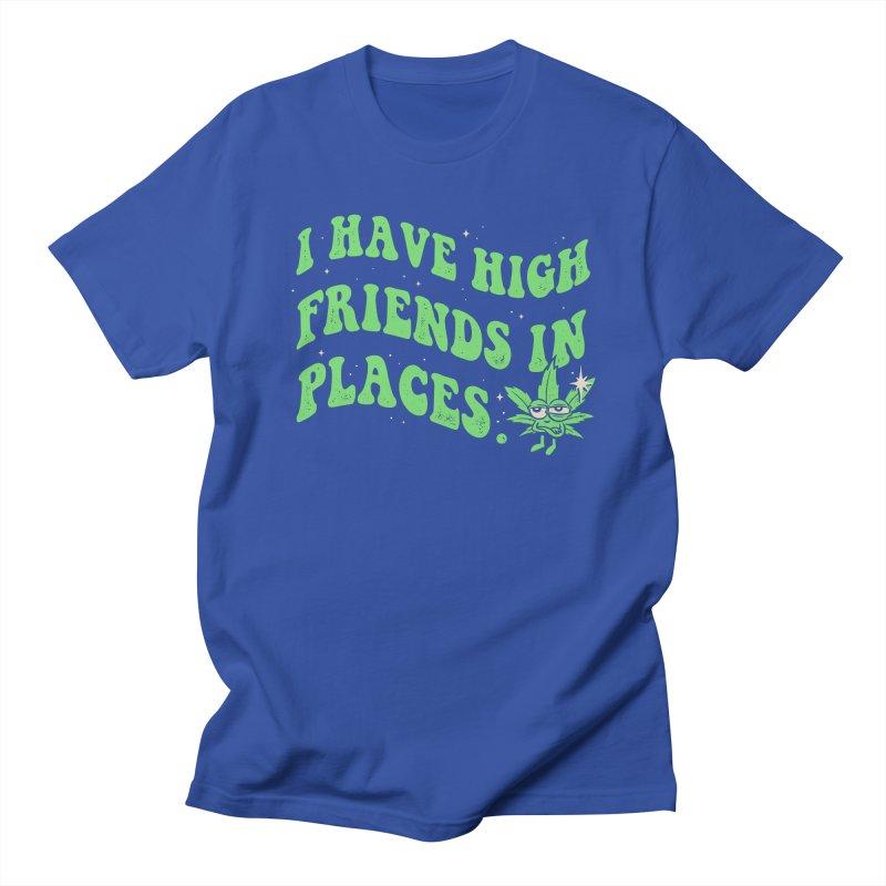 High Friends Men's T-Shirt by Gamma-Ray Designs