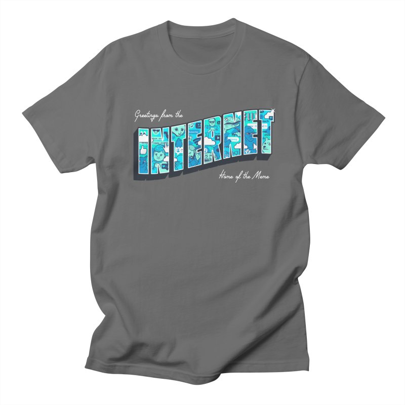 The Internet Men's T-Shirt by Gamma-Ray Designs