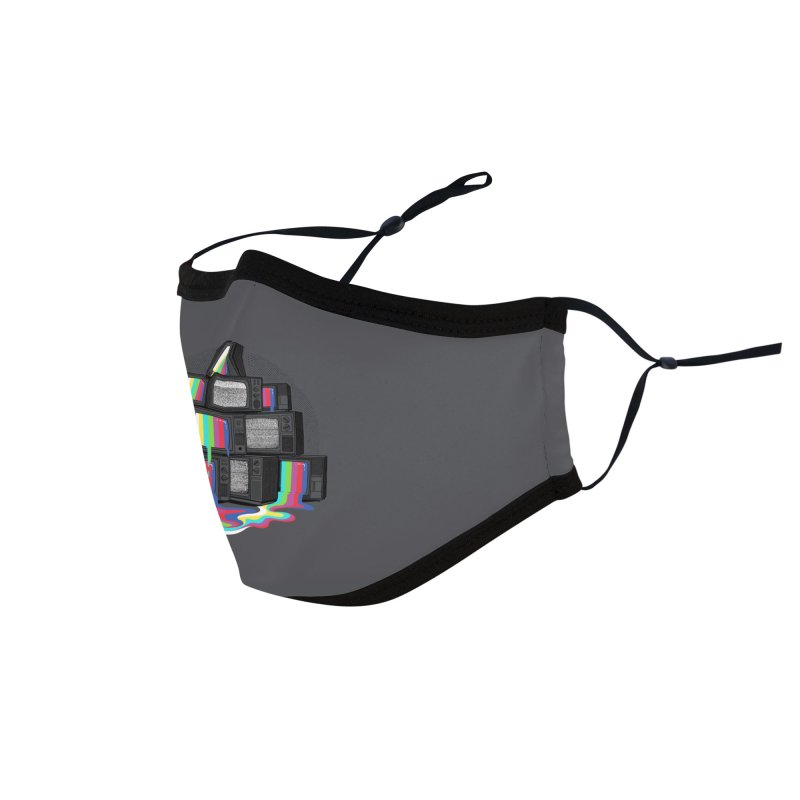Technical Difficulties Accessories Face Mask by Gamma-Ray Designs