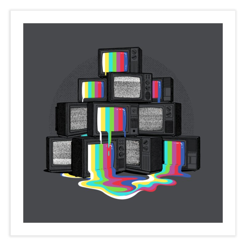Technical Difficulties Home Fine Art Print by Gamma-Ray Designs