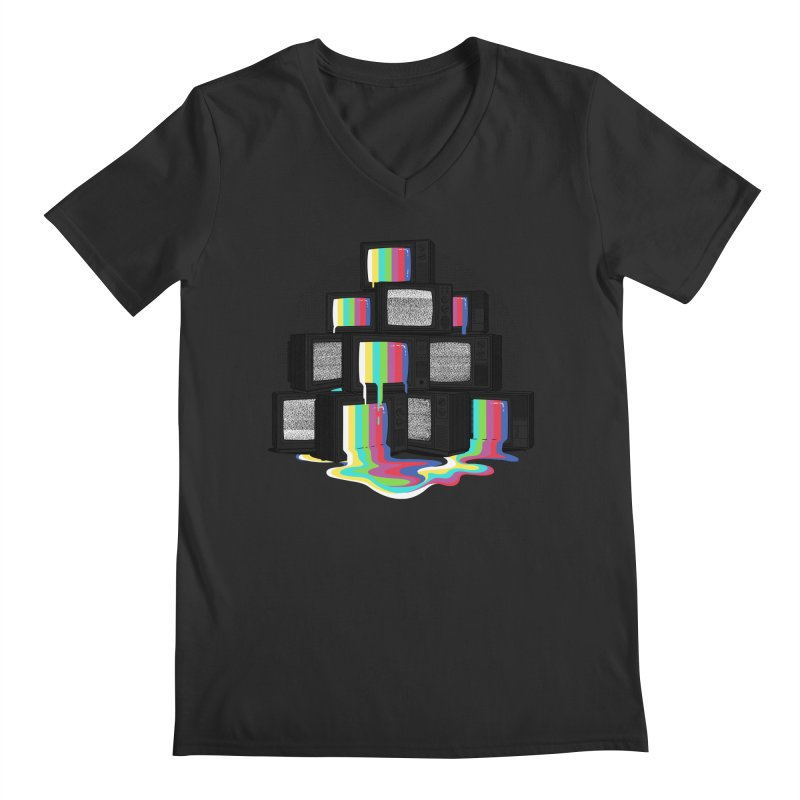 Technical Difficulties Men's V-Neck by Gamma-Ray Designs