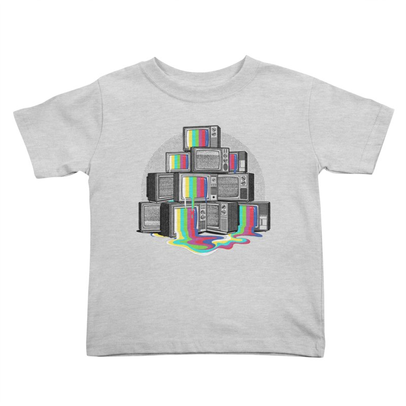 Technical Difficulties Kids Toddler T-Shirt by Gamma-Ray Designs