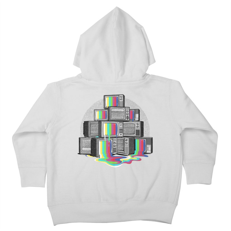 Technical Difficulties Kids Toddler Zip-Up Hoody by Gamma-Ray Designs