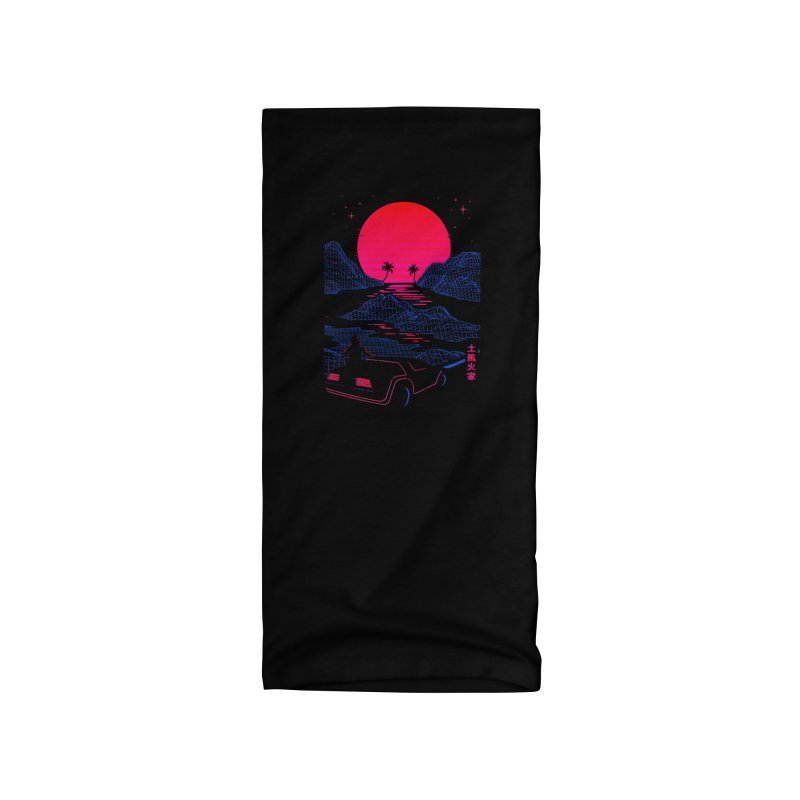 Midnight Cruise Accessories Neck Gaiter by Gamma-Ray Designs