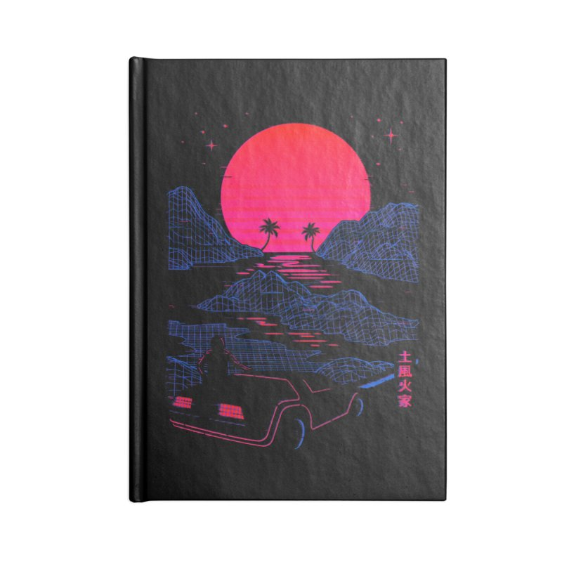 Midnight Cruise Accessories Notebook by Gamma-Ray Designs