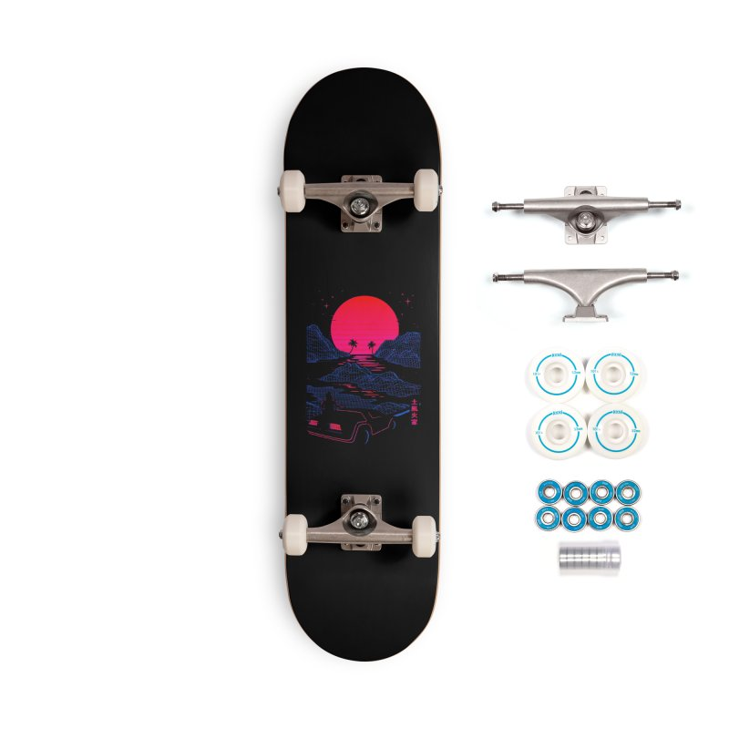 Midnight Cruise Accessories Skateboard by Gamma-Ray Designs