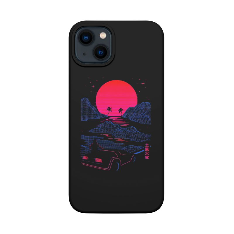 Midnight Cruise Accessories Phone Case by Gamma-Ray Designs