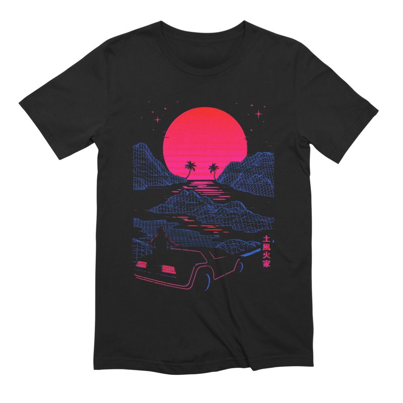 Midnight Cruise Men's T-Shirt by Gamma-Ray Designs