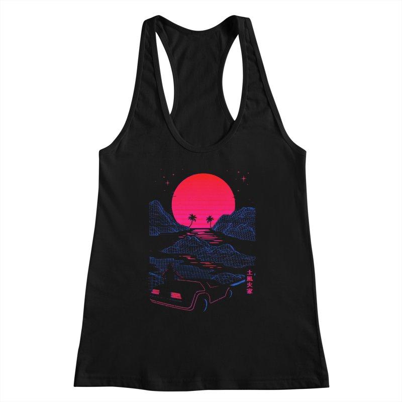 Midnight Cruise Women's Tank by Gamma-Ray Designs