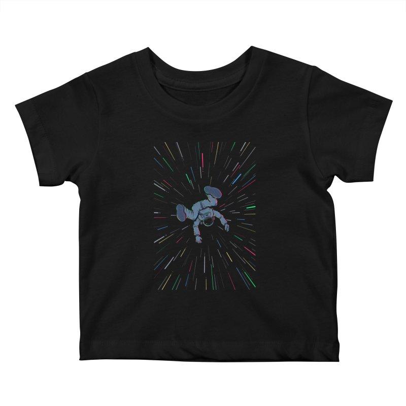 Interstellar Kids Baby T-Shirt by Gamma-Ray Designs