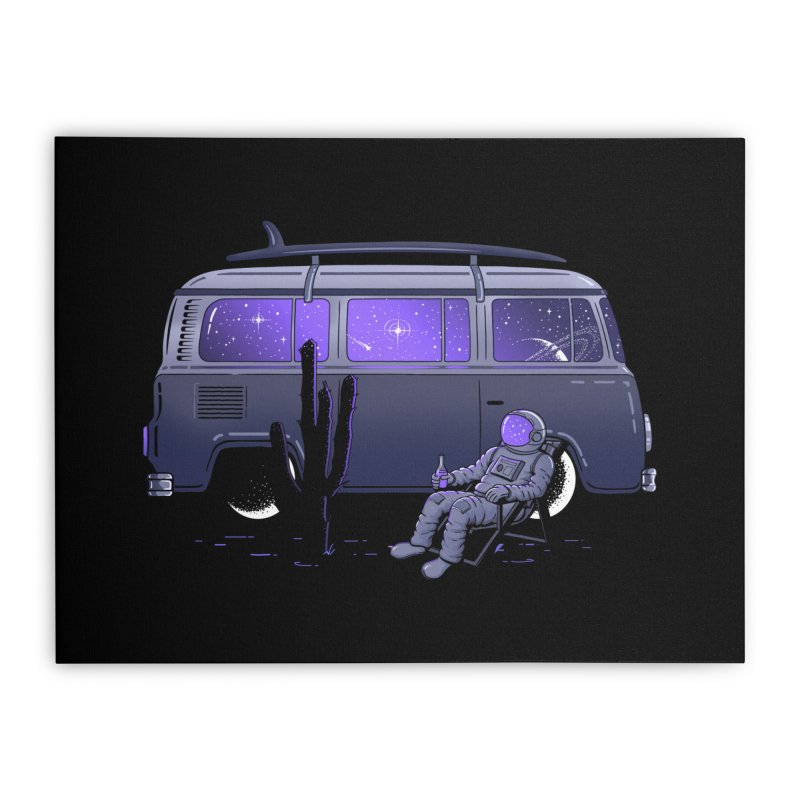 Star Trippin Home Stretched Canvas by Gamma-Ray Designs