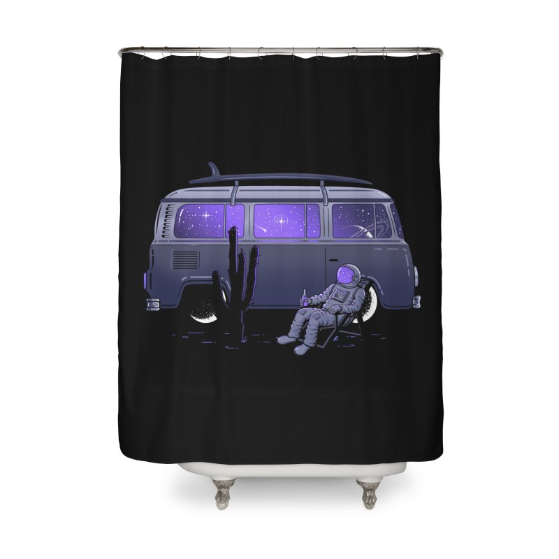 Star Trippin Home Shower Curtain by Gamma-Ray Designs