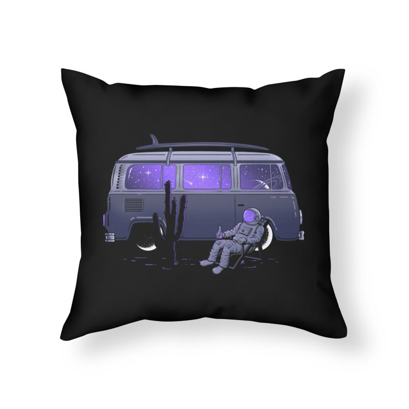 Star Trippin Home Throw Pillow by Gamma-Ray Designs