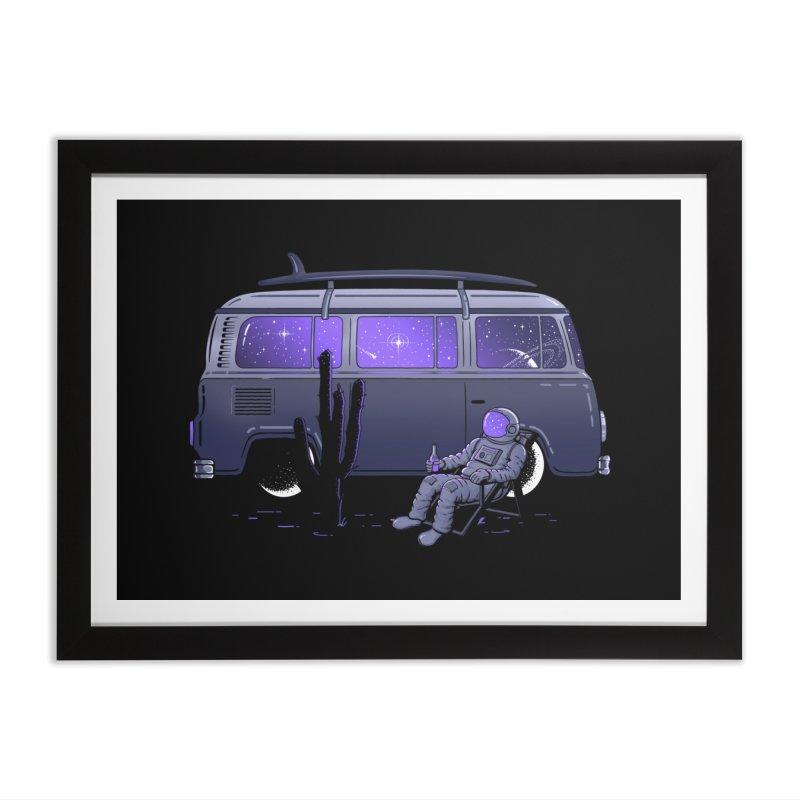 Star Trippin Home Framed Fine Art Print by Gamma-Ray Designs